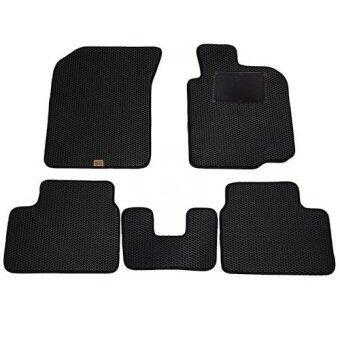 Blackhole Carmat พรมรถยนต์เข้ารูป 2 ชั้นSuzuki SWIFTปี 2012-ปัจจุบัน Black + Rubber Pad รุ่น JSUSWWBR(สีดำ)