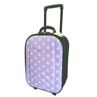 onebagshop กระเป๋าเดินทางแฟชั่น รุ่นK019 size 16 นิ้ว สีม่วง
