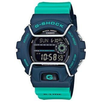Casio G-Shock นาฬิกาข้อมือผู้ชาย สายเรซิ่น รุ่น GLS-6900-2A - สีเขียว image