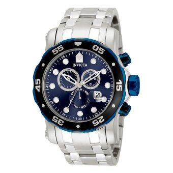 Invicta Pro Diver Men's Black Stainless Steel Strap Watch 80077