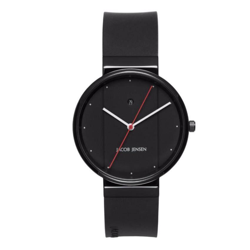 Jacob Jensen นาฬิกาข้อมือผู้ชาย รุ่น New series 753-1 สีดำ ...