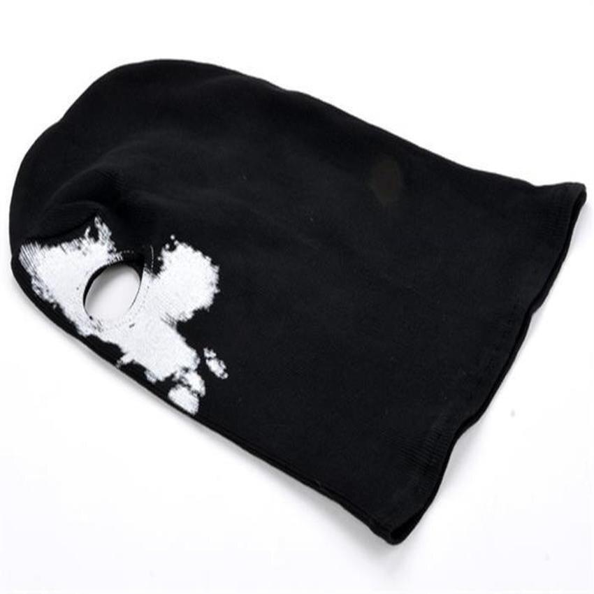 JOR Balaclava Face Skull Mask Ghost Bike Skateboard Hood Cos Costume (Black) - intl