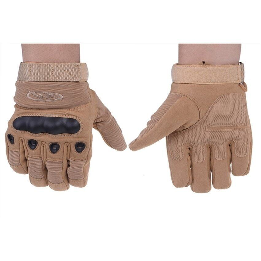 JOR Outdoor Strategic Gloves for Mountain, Cycling, Racing Motorcycle and Warmth Brown