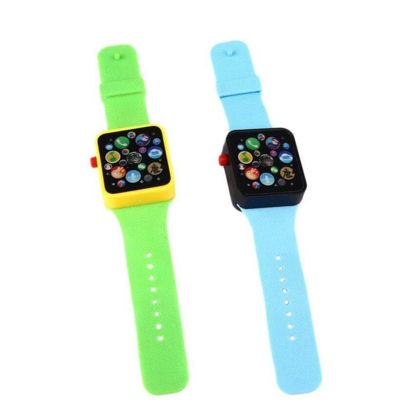 Kids Children Baby Touch screen Educational Wrist Watch Bracelet Flash Toy - intl
