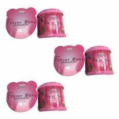King Stella Freshy Bear เจลน้ำหอมปรับอากาศ กลิ่น Bubble Gum (แพ็ค 3 กระป๋อง)