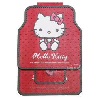 Kitty ชุดยางปูพื้น Hello Kitty (สีแดง)