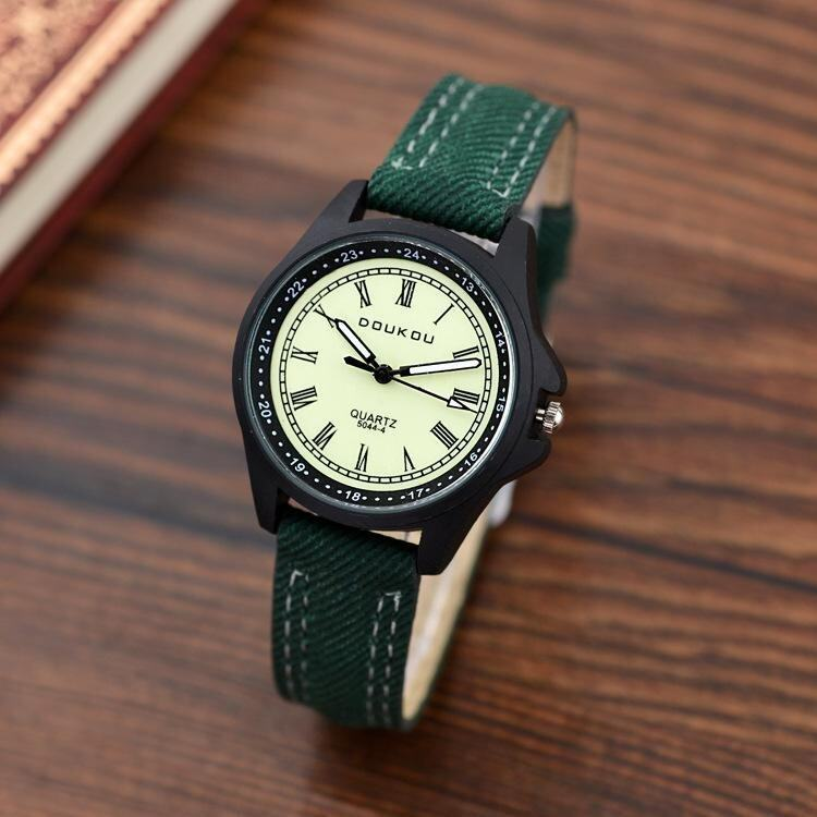 Korean Fashion Luminous Rome Student Watches Adult Quartz Watches - intl ...