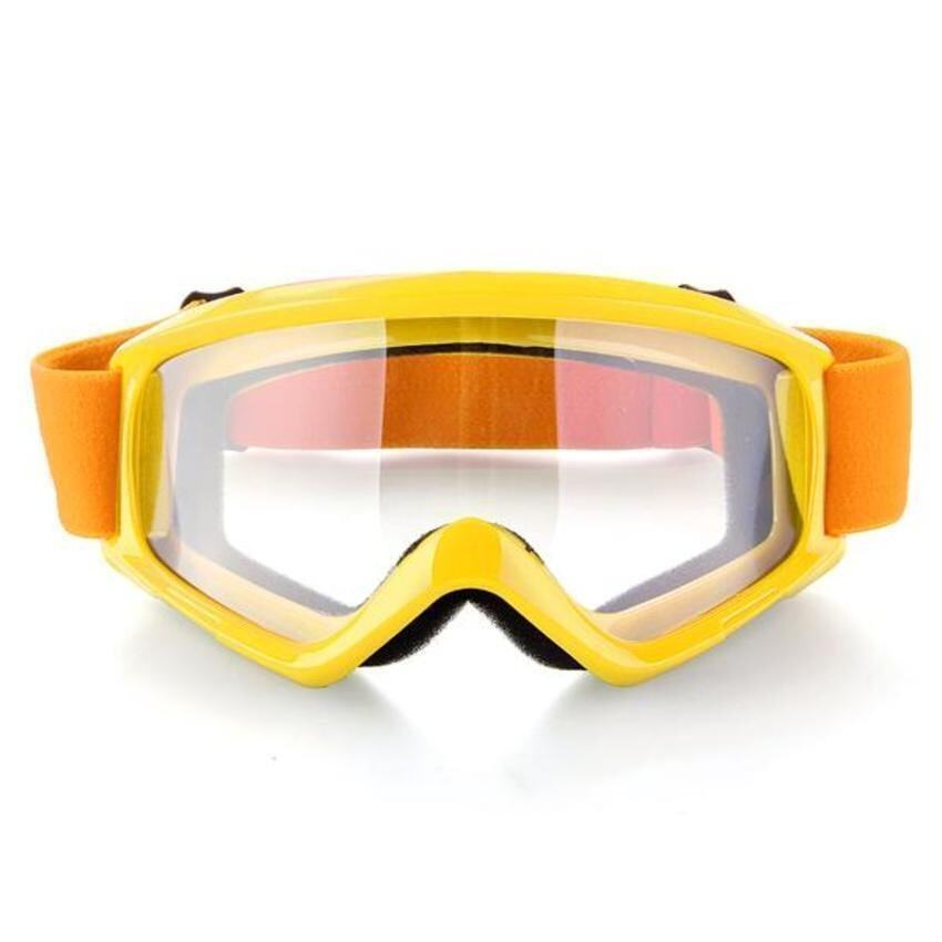 LeadSea Motorcycle Motocross ATV Helmet Anti Wind Eye Protection Glasses Goggle (Yellow) - intl
