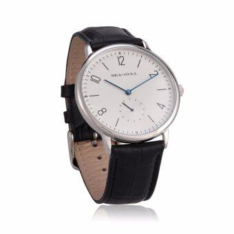 Leisure Automatic Mechanical Genuine Leather Waterproof Watch with Rome Digital Business for Various Occasions D819.612 - intl