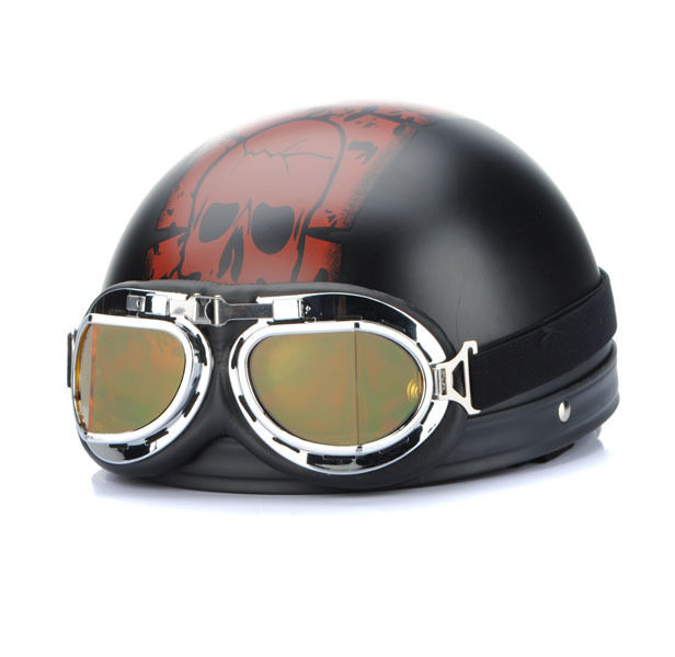 Lunettes Cross Moto Quad Goggle Pilote Aviateur Ski Anti-UV Brouillard CE T01A