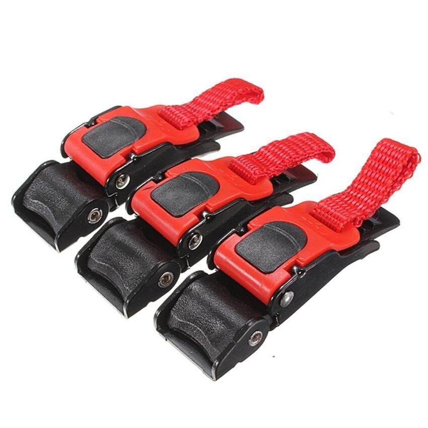 Lvzhi 2015 New 3pcs Quick Release Buckle Motorcyle Bike ATV Helmet Chin Strap Speed Clip - intl