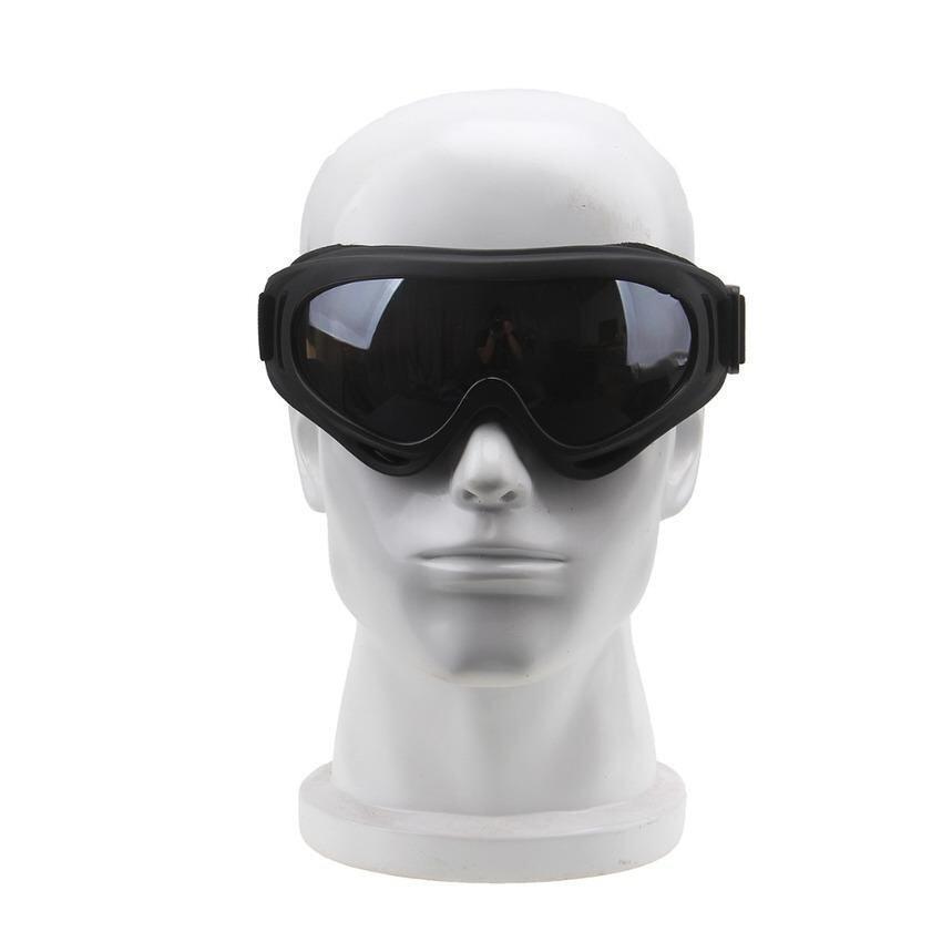 Lvzhi Mens Motorcycle ATV Off-Road Bike Skiing Goggles Eyewear Glasses Vintage For Harley Honda Suzuki Yamaha Kawasaki-Dark Grey - intl