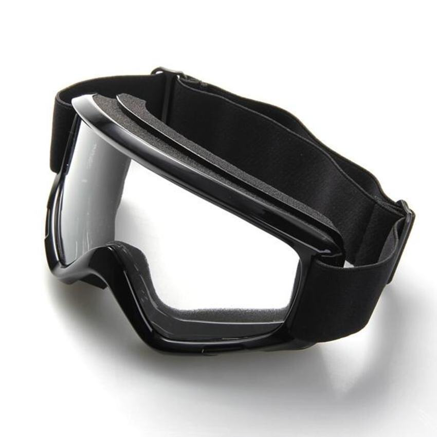 Lvzhi Motorcycle Enduro Off-Road Helmet Windproof Glasses Goggles Black - intl