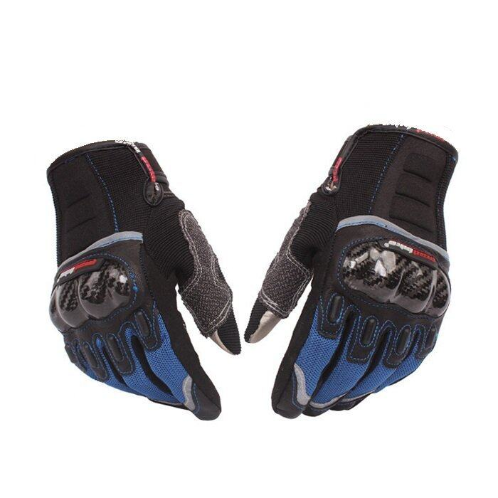 Mad Bike MAD-03 Motorcycle Gloves - Blue