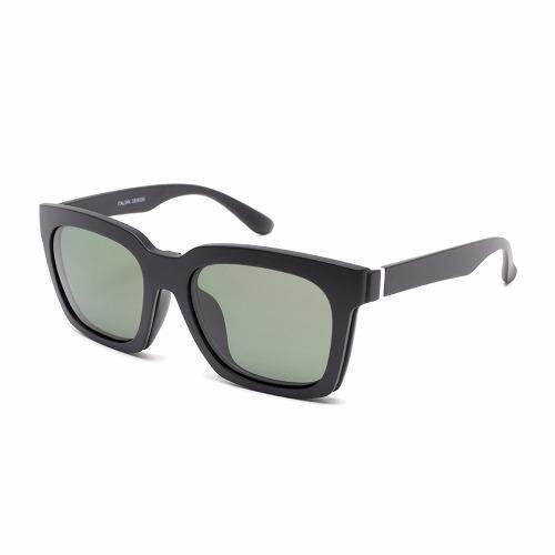 Marco Polo แว่นสายตา+คลิปออนกันแดด - EMD8015 BK(Transparent Multicolor)(Transparent Mult ...