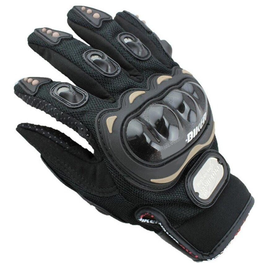 Men Fashion Sports Bike Bicycle Motorcycle Gloves - intl