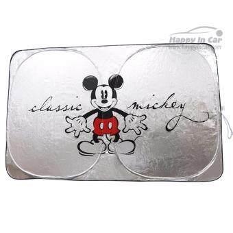 Mickey Mouse ม่านบังแดดด้านหน้า Classic Mickey