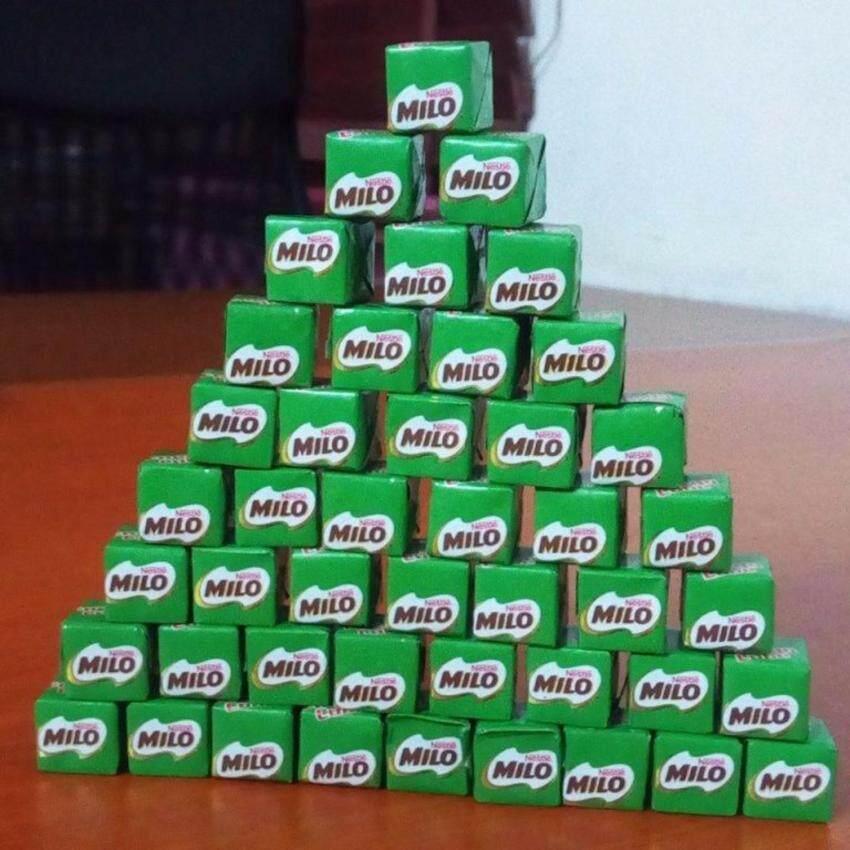 Milo Enenergy Cube ไมโลคิวบ์ ขนมชอคโกแลต 100 ก้อน ...