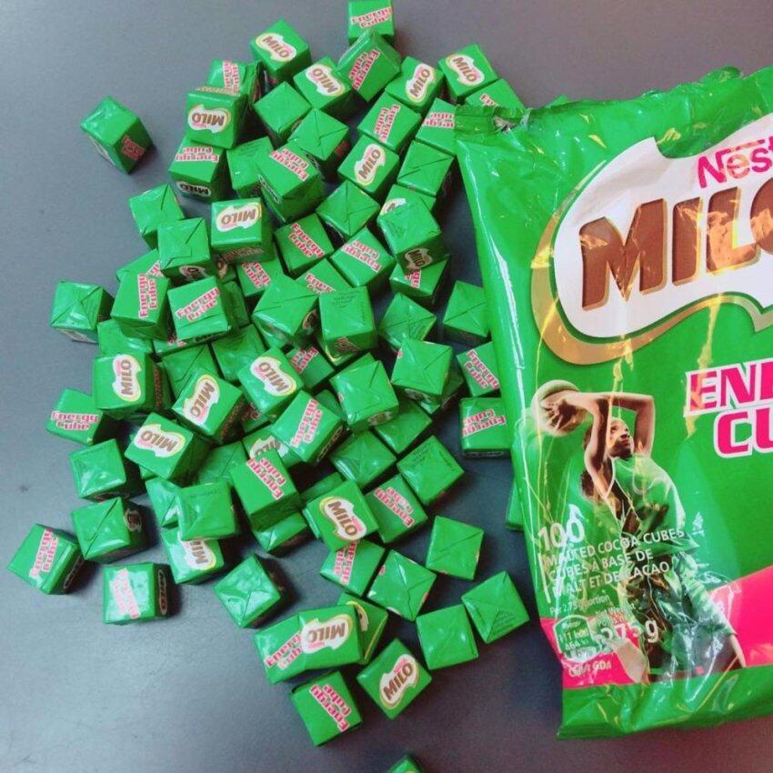 Milo Enenergy Cube ขนมชอคโกแลต (100 ก้อน)
