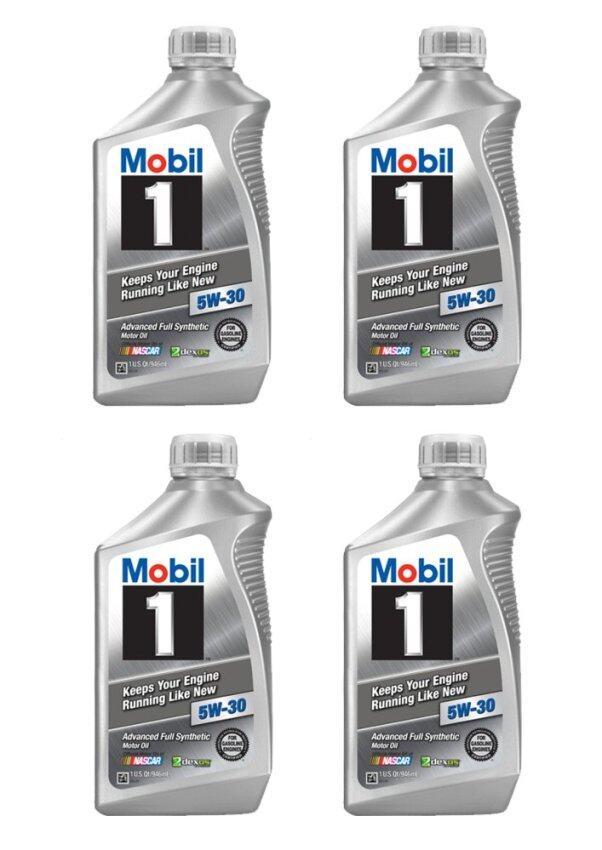 Mobil1 5W-30 สังเคราะห์แท้100% พร้อมชุดไส้กรองน้ำมันเครื่องHondaแท้ ...