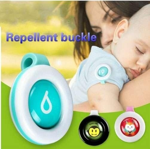 Mosquito Repellent Badge Button Baby Pregnant Woman Mosquito Repellent Clip - intl ...