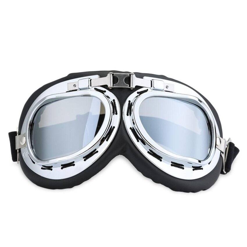 Motorcycle Goggles Riding Glasses Outdoor Motor Eyewear Cycling Wind Protection for Harley - intl