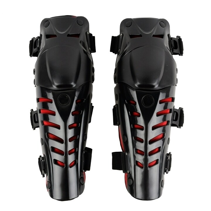 Motorcycle Motorbike Racing Motocross Knee Pads Protector Guards Protective Gear (Black) - intl