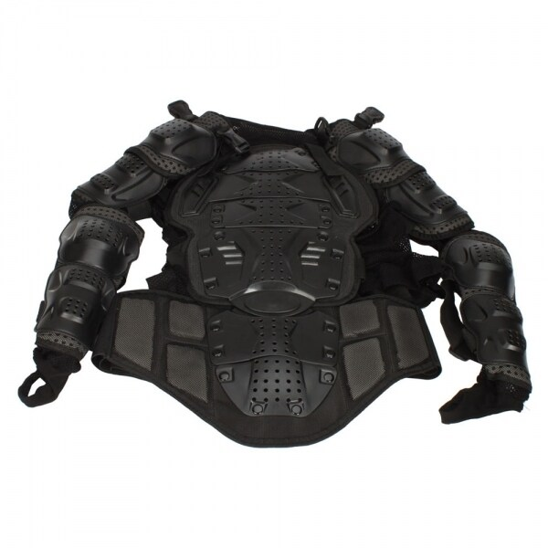 Motorcycle Sexy Protective Body Armor Size L Black