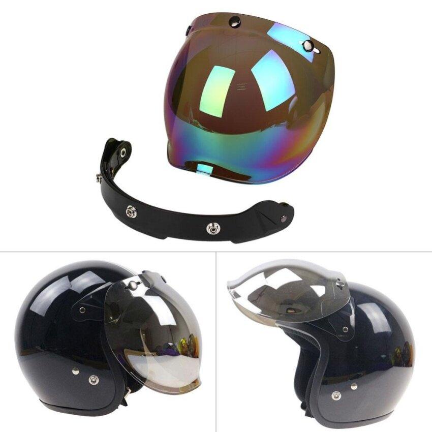 Motorcycle Windshield For Helmet Harley Style Helmets Jet Visor UV 400 - intl