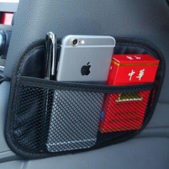Multifunctional Car Backpack Car Seat Storage BagSize:20*14*0.4cm  - intl