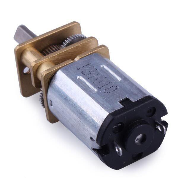 N20 DC Gear Motor Miniature High Torque Electric Gear Box Motor 160RPM