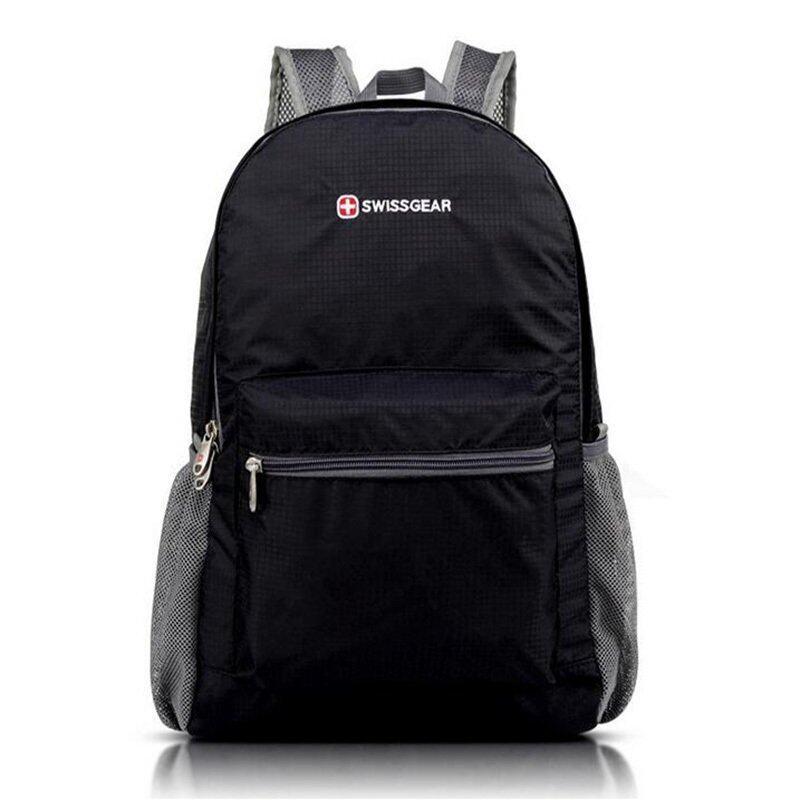 "New Brand SWISSGEAR Sport Waterproof 14"" Laptop Portable Folding bag Men and Women Nylon Backpack 14 Inch Computer Notebook Bag (Intl) - Intl"