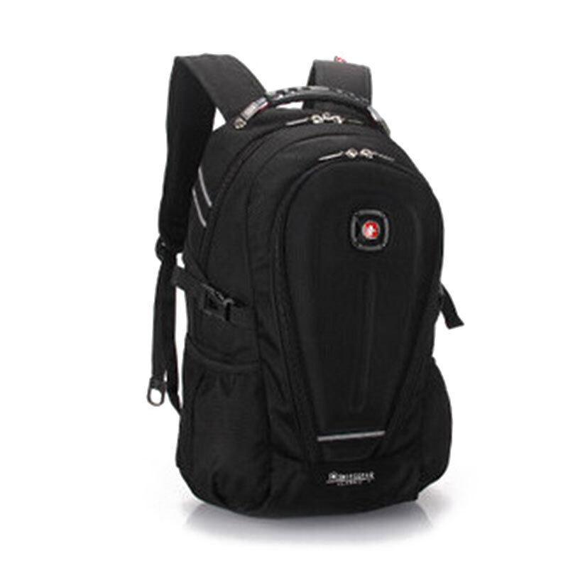 "New Brand SWISSGEAR Sport Waterproof 15"" Laptop SWISS Men and Women Backpack Computer Notebook Bag Black - Intl"