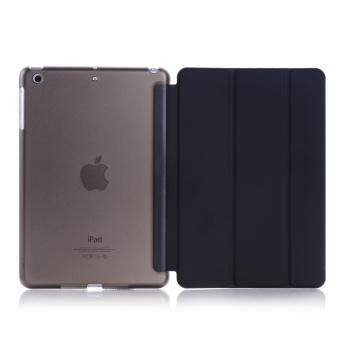 New iPad 2017 iPad 9.7 inch / Ipad Air (ipad 5) case, Welink Ultra Slim Smart Cover PU Leather Case for Ipad Air (ipad 5) / New iPad 2017 iPad 9.7 inch (Black)