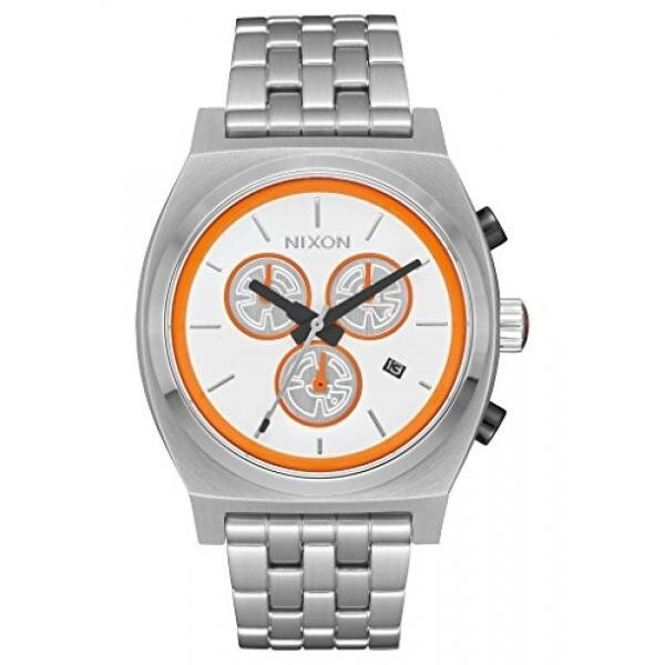 Nixon Mens Time Teller Chrono SW, C-3PO Gold Quartz Stainless Steel Casual Watch (Model: A972SW-2378-00) - intl