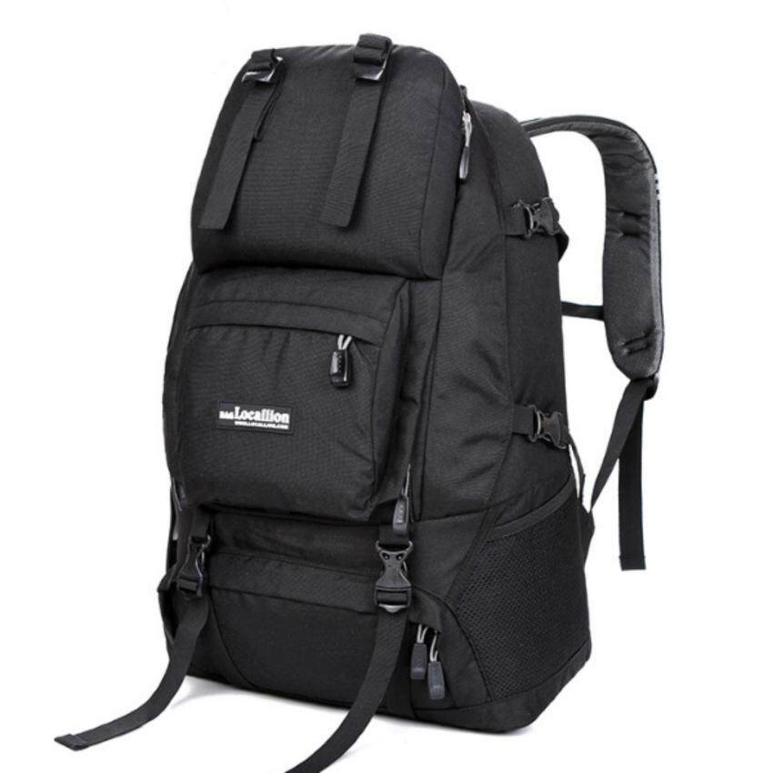 NL16BL สีดำ กระเป๋าเดินทาง กระเป๋าสะพายหลัง กระเป๋าเป้เดินทาง กระเป๋าเป้ผู้ชาย กระเป๋าเป ...