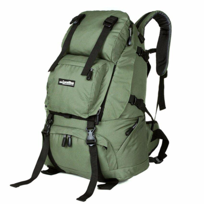 NL16SG สีเขียวทหาร กระเป๋าเดินทาง กระเป๋าสะพายหลัง กระเป๋าเป้เดินทาง กระเป๋าเป้ผู้ชาย กร ...