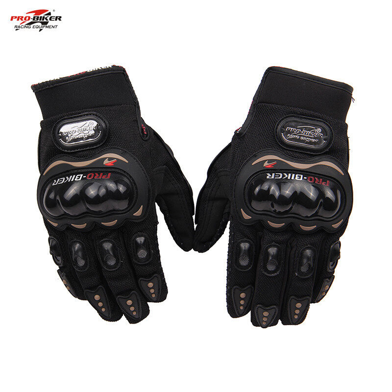 Non-slip cycling gloves biker full finger motorcycle gloves high quality Motocross Off-road Sports Gloves - Intl