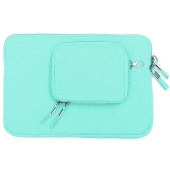 "Notebook Laptop Sleeve Case Carry Bag Pouch Cover Small Bag For 12"" MacBook Green"