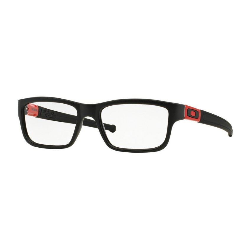 Oakley แว่นสายตา รุ่น Marshal OX8034 - Prescription Eyewear - Black/Ferrari Red (803409) ...