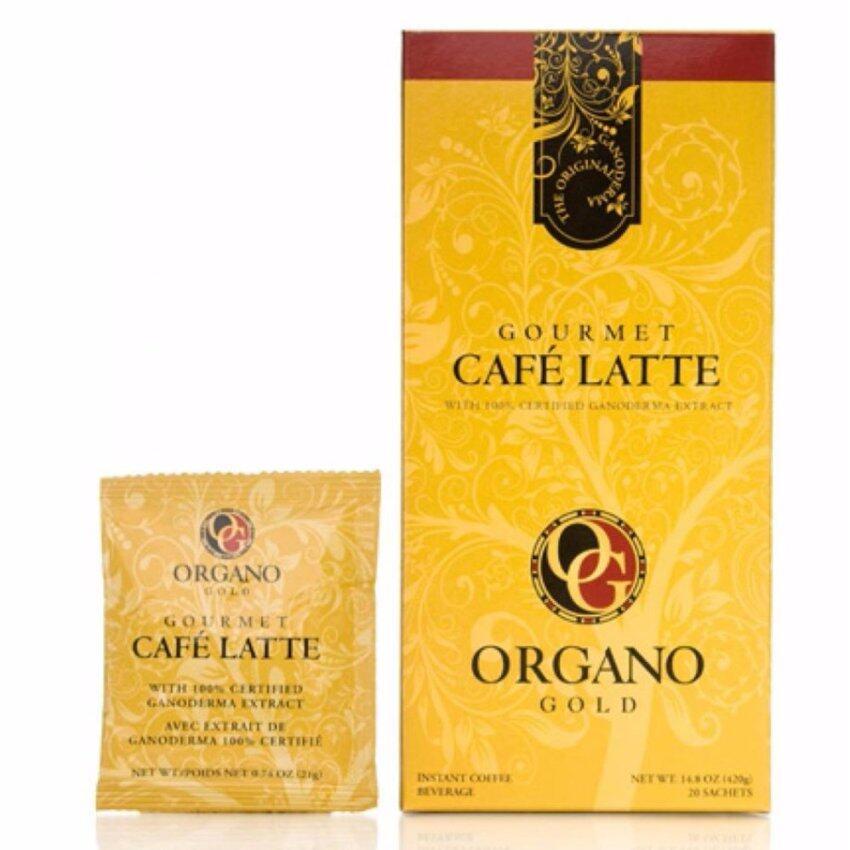 Organo Gold Gourmet Latte coffee กาแฟอราบริก้า เร่งการใช้พลังงาน คาแฟอีนต่ำ ...
