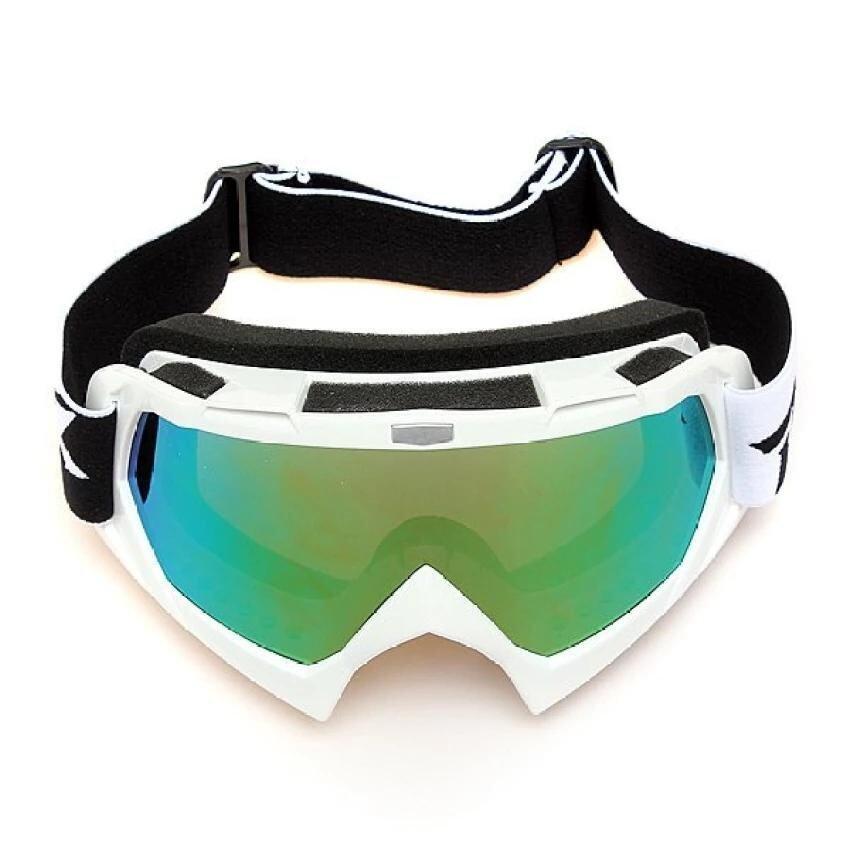 Panda Online Motocross Off-road Trials Enduro Helmet ATV Dirt Bike Motorcycle Goggles Eyewear(White) - intl