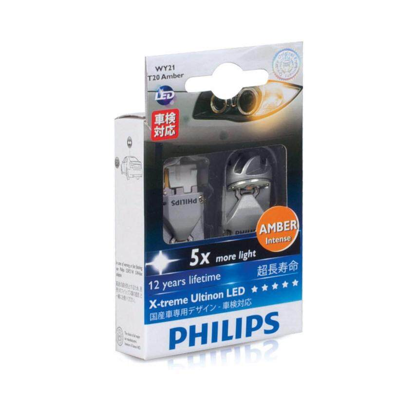 Philips X-treme Ultinon WY21W LED Amber ...