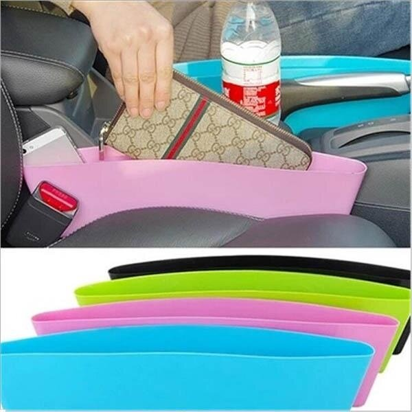 Plastic Compressible Catcher Box Slit Storage Organizer Big Size Other Things - intl