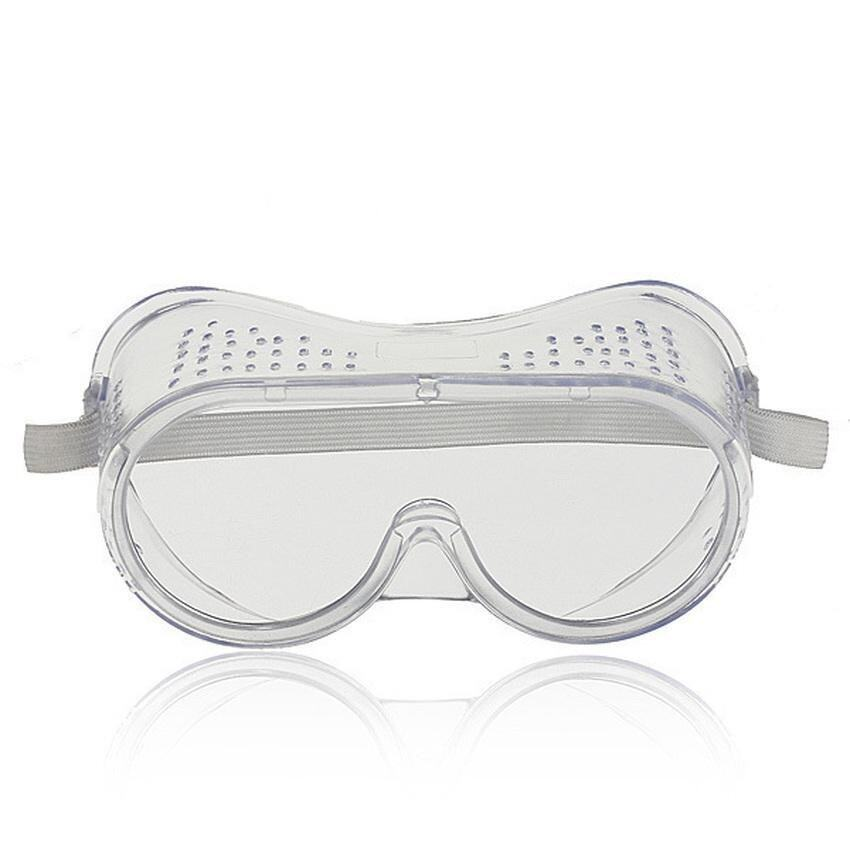 PLATIM Safety Eye Protection Goggles Industrial lab Glasses Anti Mist Ventilated Clear