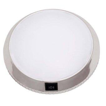 Platong Gadget ไฟ LED ติดเพดานรถยนต์สีขาว ทรงกลม YCL-640B(สีขาว)