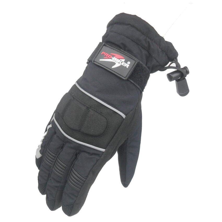 Pro biker MTV-09 winter mens motorcycle riding gloves waterproof warm motorcycle accessories