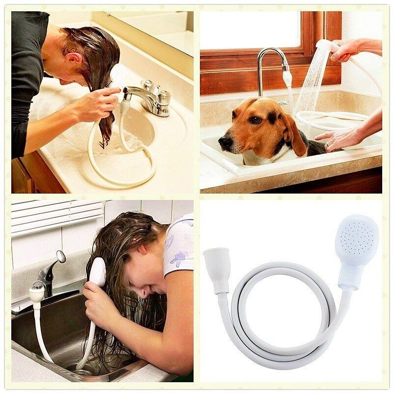 ฉีดน้ำระบายสุนัขหัวกรองน้ำท่อน้ำอ่างล้างจานผมสัตว์เลี้ยง ...