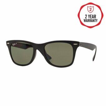 Ray-Ban แว่นกันแดด รุ่น - RB4195F - Matte Black (601S9A) Size 52 Polar Green