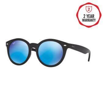 Ray-Ban แว่นกันแดด รุ่น - RB4261D - Black (601/55) Size 55 Blue Flash